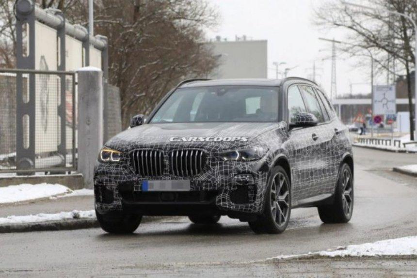 Стало известно, когда появится новая BMW X5`