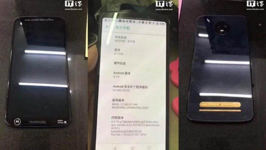 Появились первые фото смартфона Moto Z3 Play