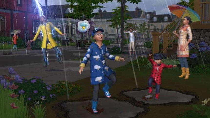 Sims 4 получает пакет расширения Seasons