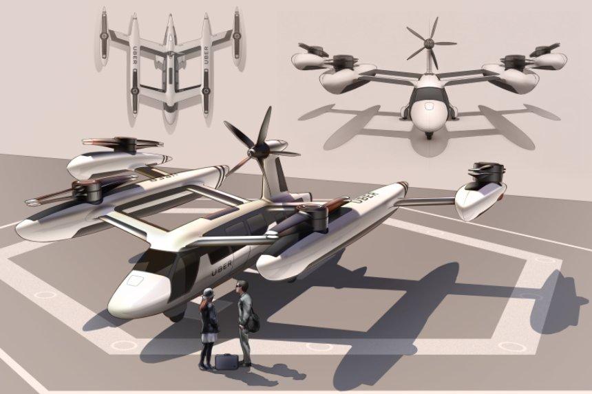 Uber разрабатывает тихие электрические самолеты для армии США