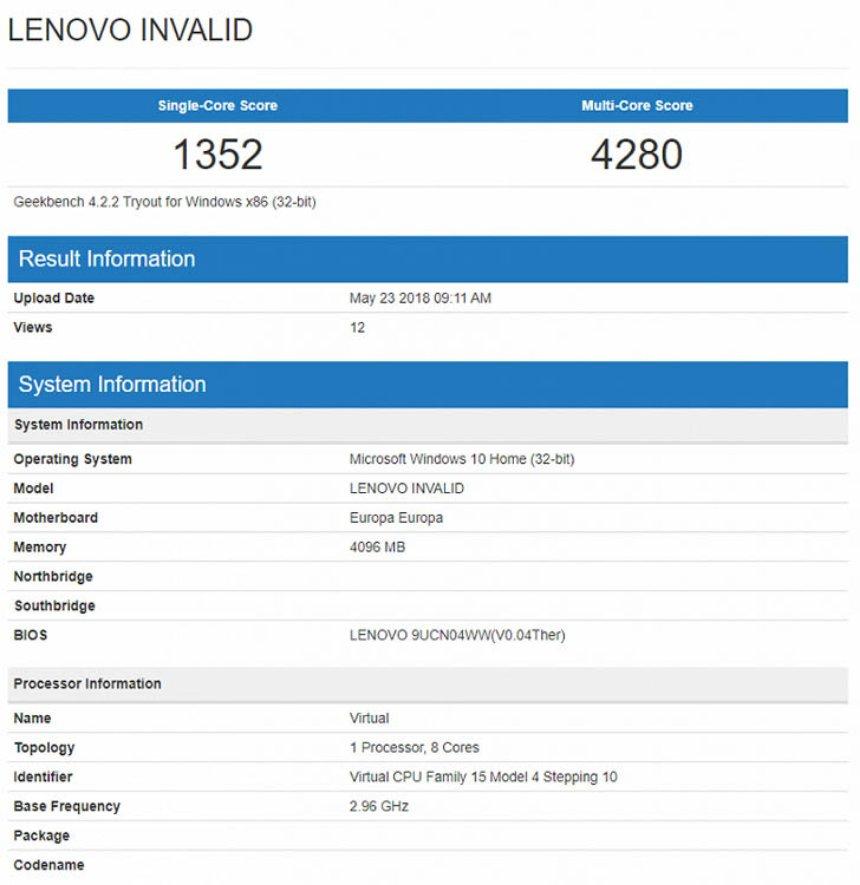 Компания Lenovo выпускает новый ноутбук