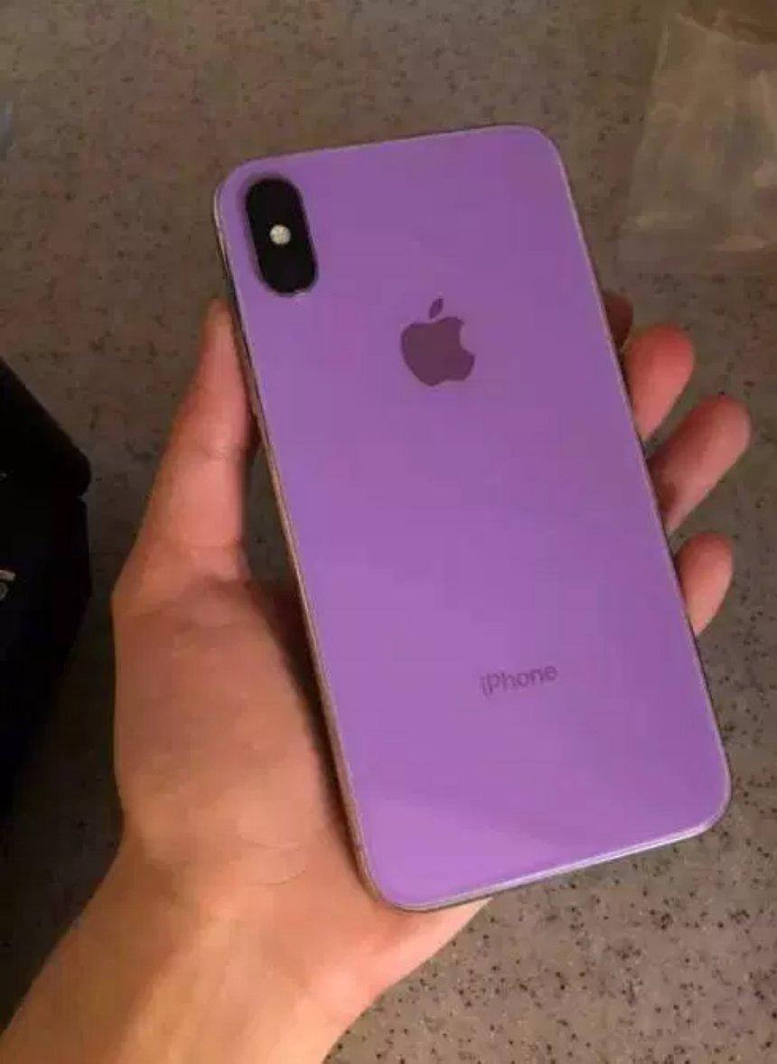 Опубликованы фото прототипа модели iPhone Х 2018 года