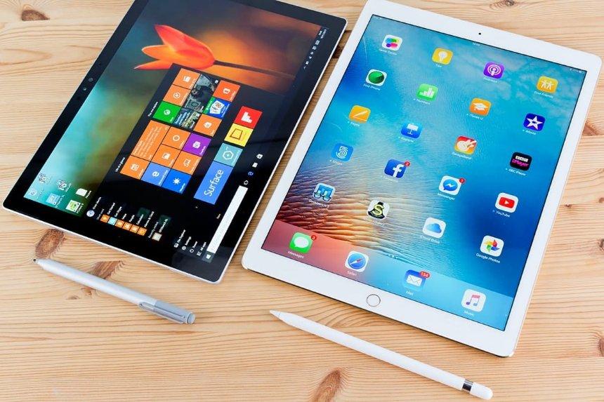 Microsoft выпускает планшет Surface на Windows 10, прямого конкурента iPad Pro