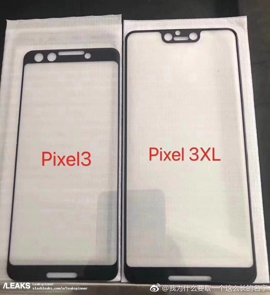 Новая утечка раскрывает интересные детали о смартфонах Pixel 3 и Pixel 3 XL