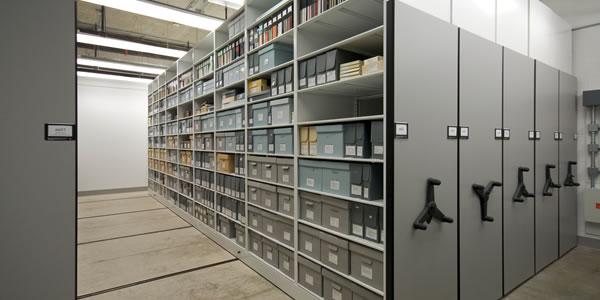 Особенности профессионального архивохранилища
