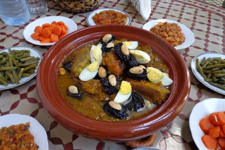 Ресторан марокканской кухни в Москве