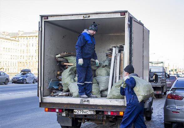 Удобная услуга вывоза мусора
