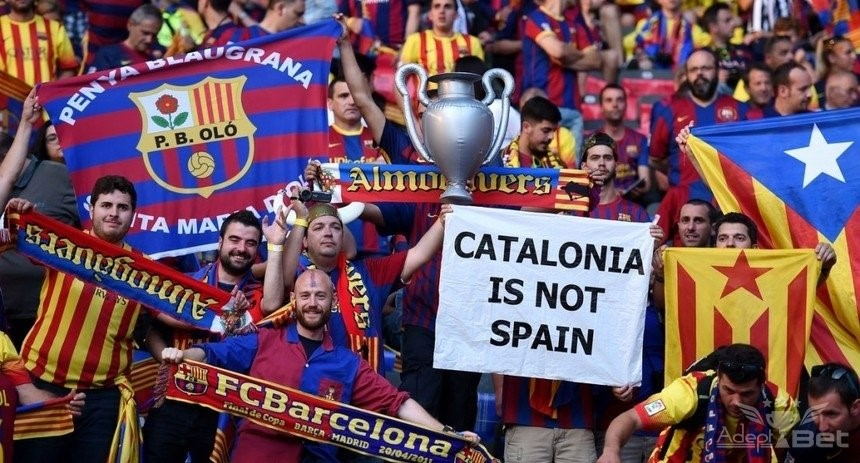 «Камп Ноу» - «будка гласности» для каталонцев