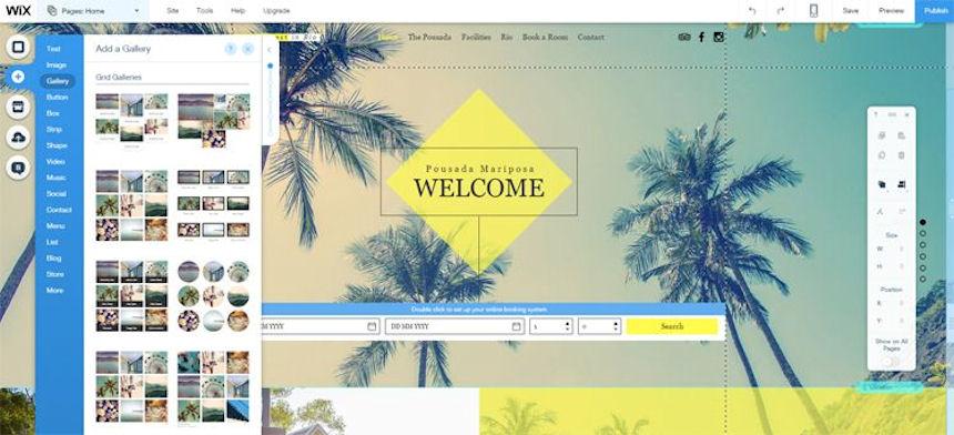 Wix - простой и быстрый способ создать свой сайт
