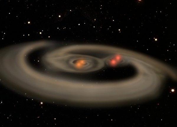 Ученые нашли солнечную систему с четырьмя гравитационно связанными «солнцами»