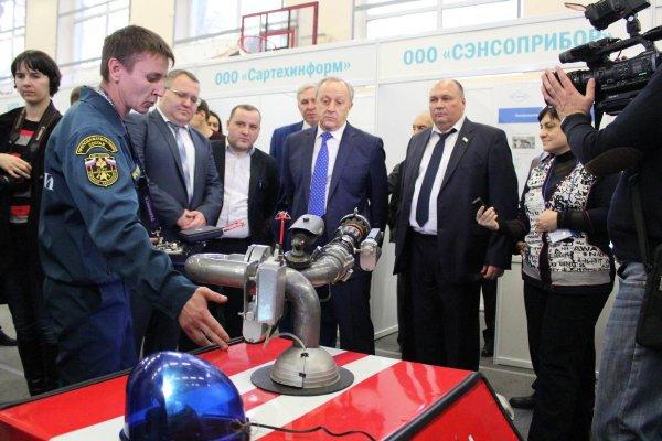 В Саратове ученые создали уникального робота-пожарного