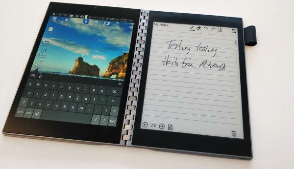 Концептуальный ноутбук Intel Tiger Rapids с двумя экранами готовится взорвать рынок девайсов