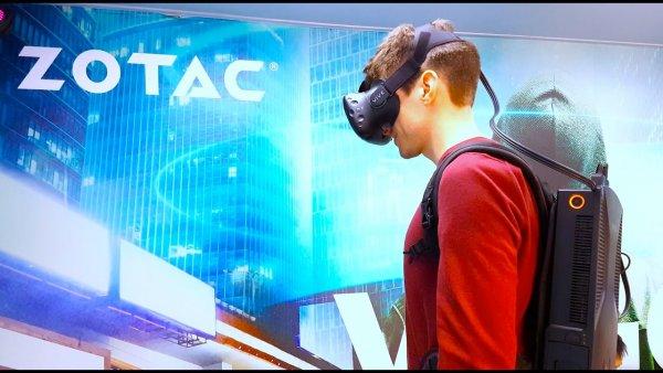 Компания Zotac продемонстрировала портативный компьютер-рюкзак