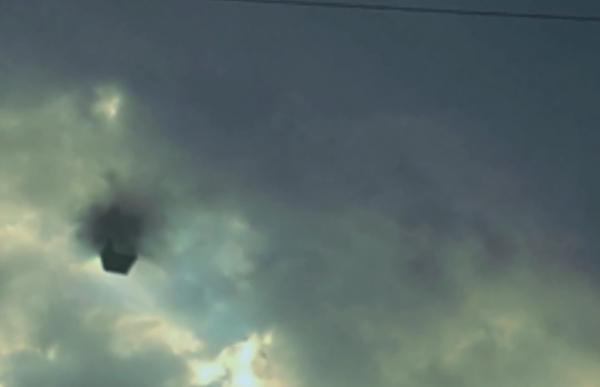 В США в небе НЛО телепортировался прямо на Землю