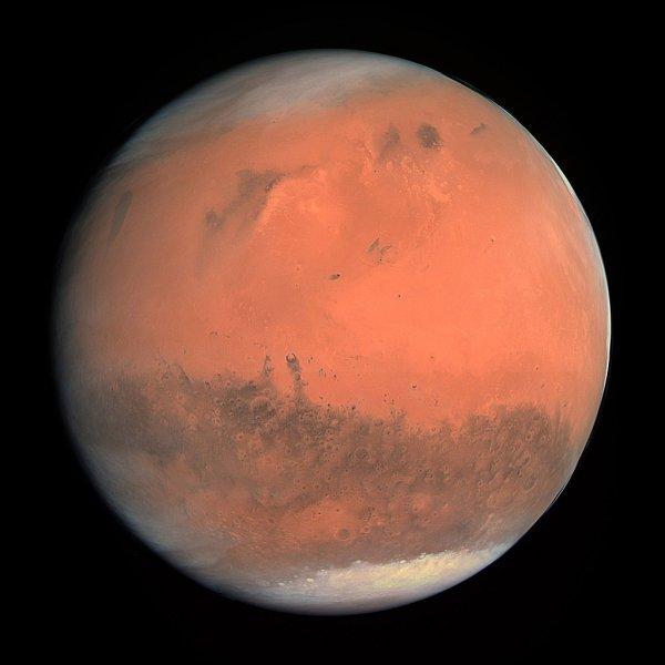В результате столкновения с неустановленным объектом Марс взорвался