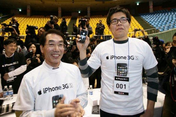 В Корее внезапно возобновили продажи iPhone 3GS за $50