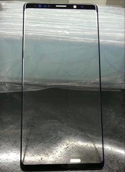 В Сети появился снимок экранной панели Samsung Galaxy Note 9