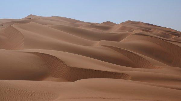 Из-за тропического циклона в пустыне на Ближнем Востоке появились озера