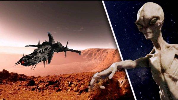 В NASA рассказали о разбитых кораблях инопланетян на Марсе
