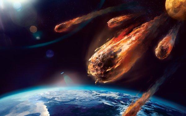 Эксперты: Падение метеоритов несёт в себе большую опасность для планеты