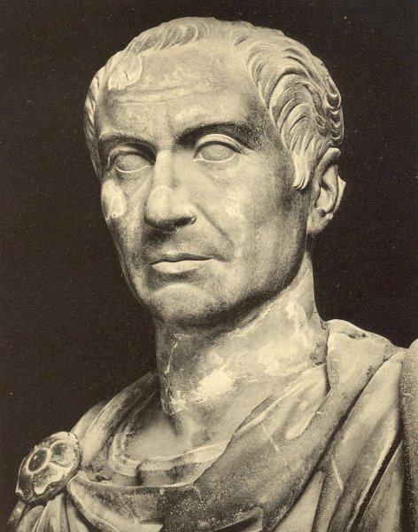 Ученые показали, как на самом деле выглядел Юлий Цезарь