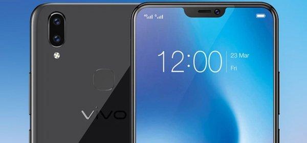 Vivo доработала V9, снабдив его «козырьком» а-ля  iPhone