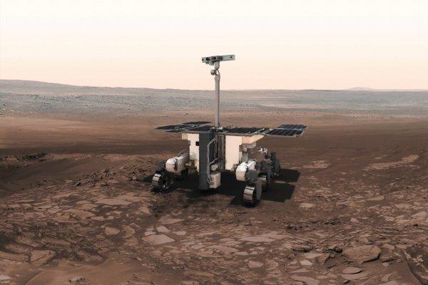Ровер «Пастер» после приземления на Марсе начнет искать признаки жизни