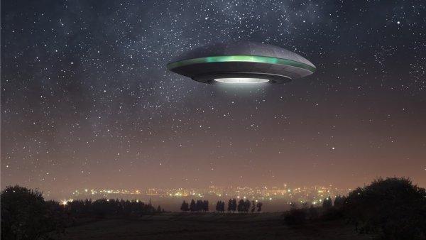 Уфолог случайно сфотографировала НЛО