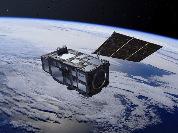 ESA опубликовали фантастический снимок со спутника Sentinel-3