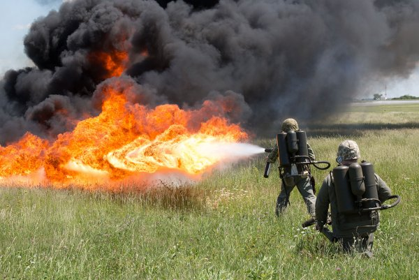Украина начала создавать реактивные пехотные огнемёты