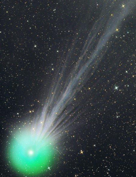 Огромную комету «Невероятный Халк» будет видно с Земли