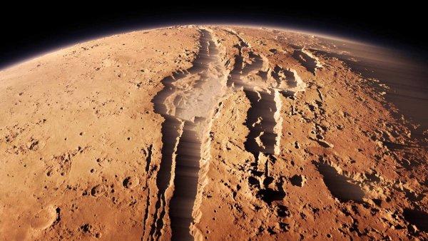 Лица инопланетян на поверхности Марса восхитили уфологов