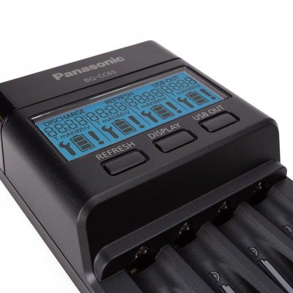 Panasonic выпустила элитную зарядку для аккумуляторов