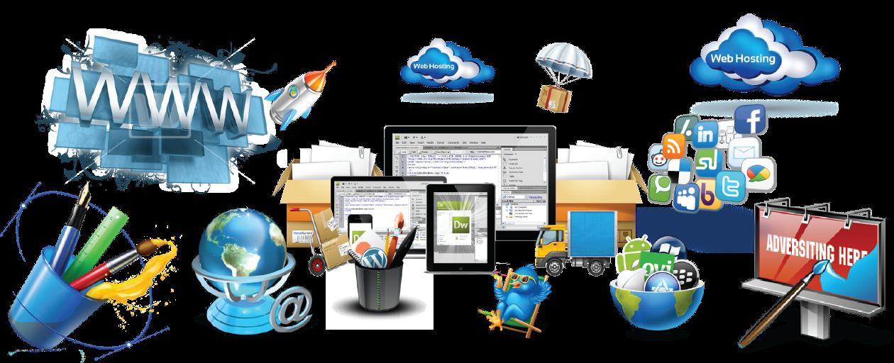 Услуги по профессиональной разработке сайтов