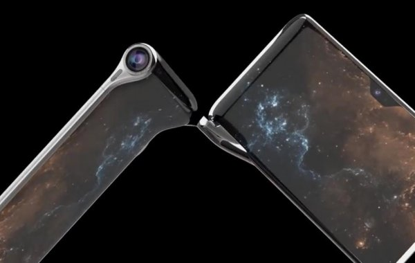 Turing представили невероятную раскладушку с тремя экранами Hubble Phone