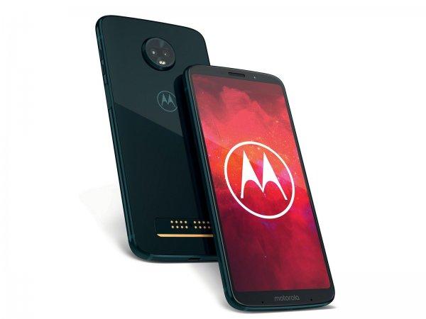 Первым устройством с 5G-сетями стал Motorola Moto Z3