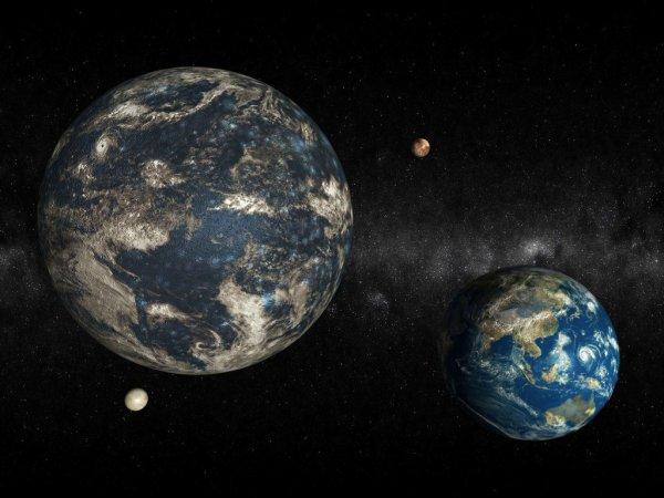 Планета Нибиру может создать жизнь на Марсе