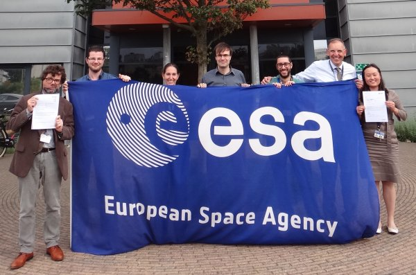 Кусок астероида или волос: ESA опубликовало загадочный снимок