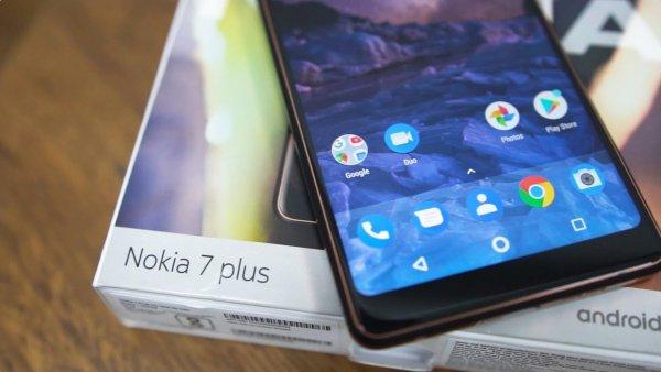 Nokia 7 одной из первых получит свежий Android 9.0 Pie