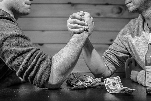 Вера в свою победу даёт мужчинам всплеск тестостерона