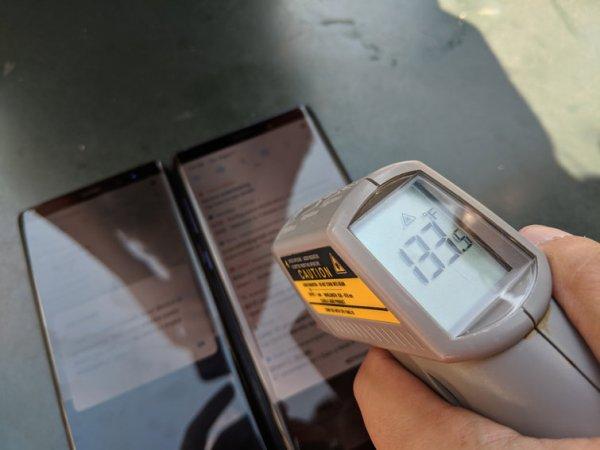 Систему охлаждения Samsung Galaxy Note 9 сравнили с прошлогодним Galaxy Note 8