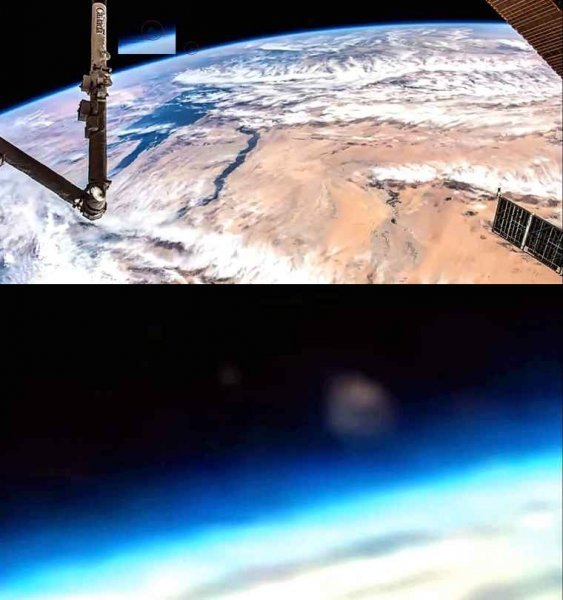 Астроном разглядел на видео с МКС приближающуюся Нибиру