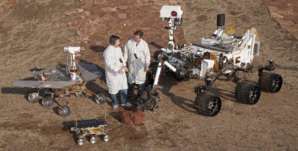 Учёные NASA объяснили неудачи роботов в поиске жизни на Марсе