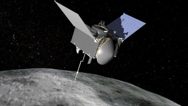 Зонд OSIRIS-REx впервые сфотографировал и передал на Землю снимки астероида Бенну
