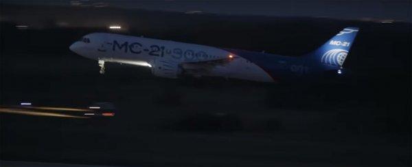 Ночные испытания прошли успешно: Самолет МС-21-300 впервые приземлился в темное время суток