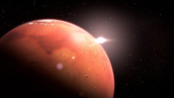 На Марсе заметили старинную амфору