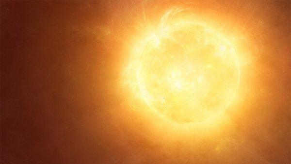 NASA показало ярчайшую вспышку на Солнце
