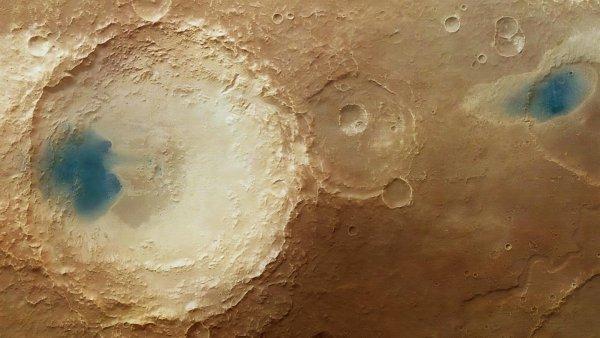 Солёное озеро доказывает наличие жизни на Марсе - учёный