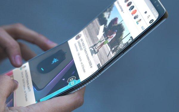 Экран складного смартфона Samsung оснастят дактилоскопическим датчиком