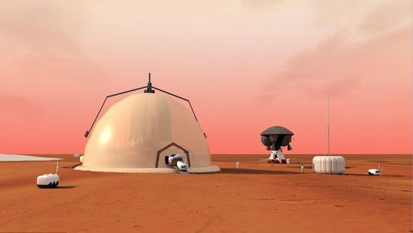 В Сеть попал план базы на Марсе, где будут проживать колонизаторы